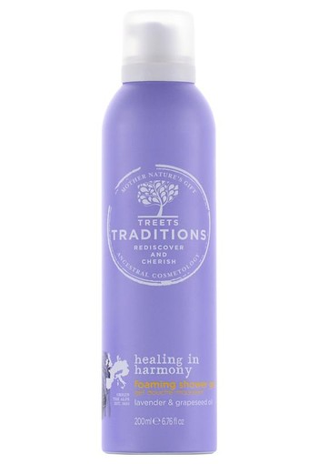 Treets Healing in harmony foam shower gel (200 ml)