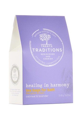 Treets Bath tea healing in harmony (3 stuks)