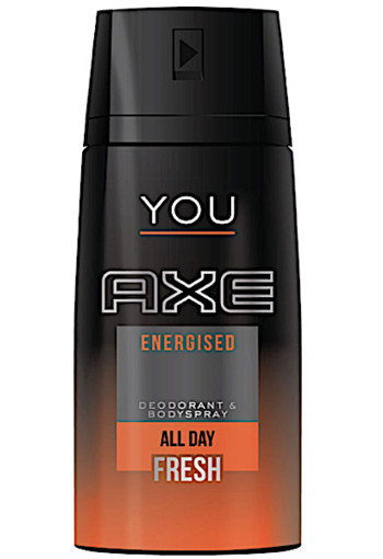 Axe De­o­do­rant spray you ener­gi­sed 150 ml