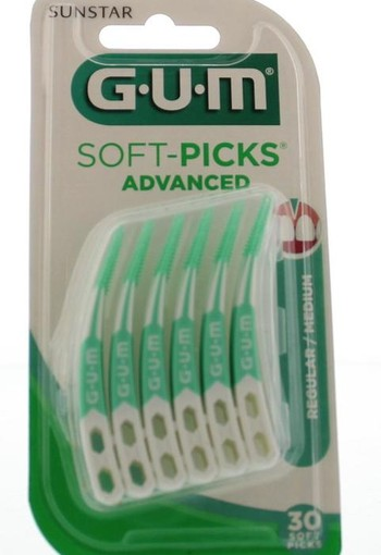 GUM Soft picks advanced regular (30 stuks)