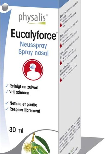 Physalis Eucalyforce neusspray (30 ml)