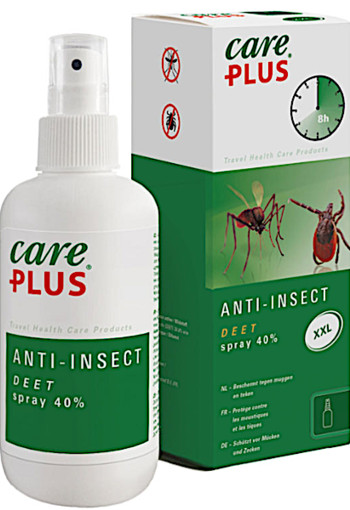 Ca­re Plus Deet an­ti-in­sec­ten­spray 40% / 200 ml