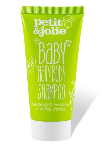 Petit & Jolie Baby shampoo hair & body mini (50 ml)