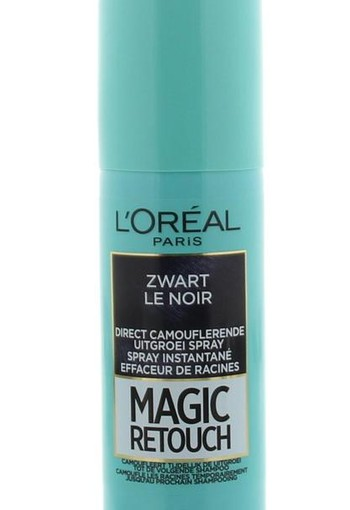 Loreal Magic retouch zwart spray (75 ml)