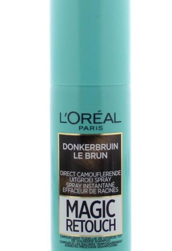 Loreal Magic retouch bruin spray (75 ml)