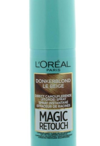 Loreal Magic retouch donker blond spray (75 ml)