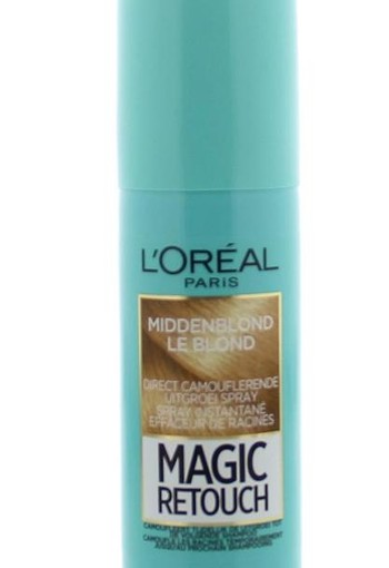Loreal Magic retouch midden blond spray (75 ml)
