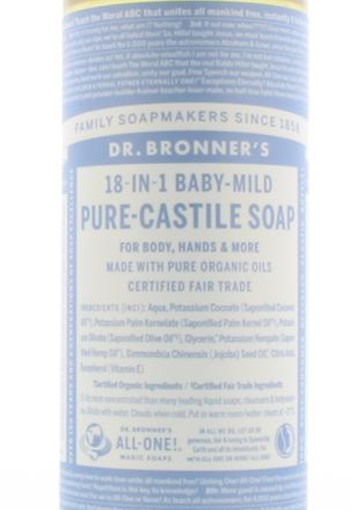 Dr Bronners Baby liquid soap neutral mild (475 ml)