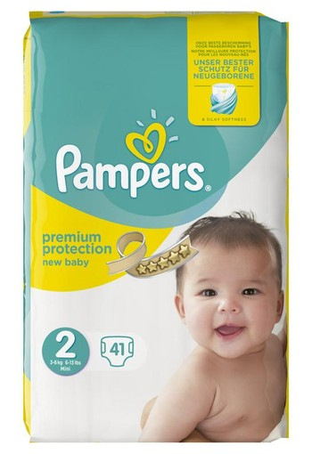 Pampers New baby mini 2 midpack (41 stuks)