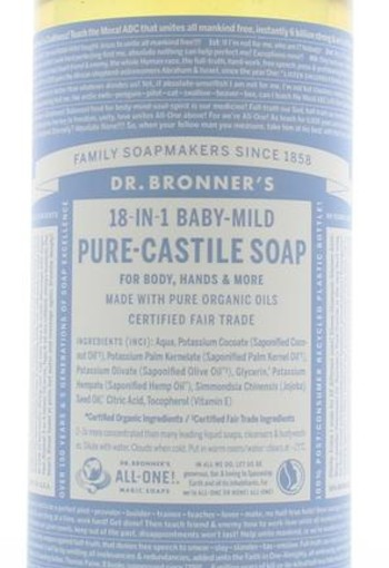 Dr Bronners Baby liquid soap neutral mild (945 ml)