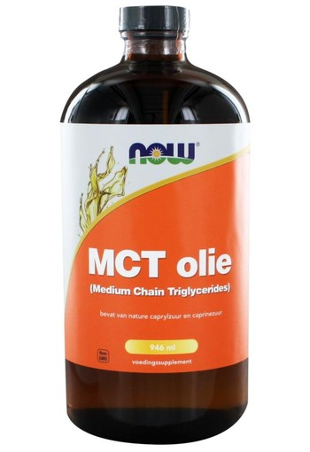 NOW MCT Olie (Medium Chain Triglycerides) (946 ml)