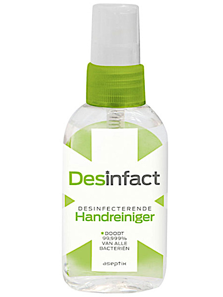 Des­in­fact Des­in­fec­te­ren­de hand­rei­ni­ger spray  50 ml