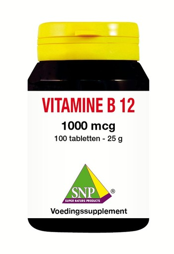 SNP Vitamine B12 1000 mcg (100 tabletten)