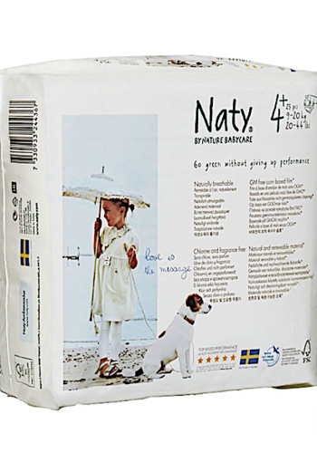 Naty Na­tu­re Ba­by­ca­re Lui­ers maxi plus 4+ /24 stuks