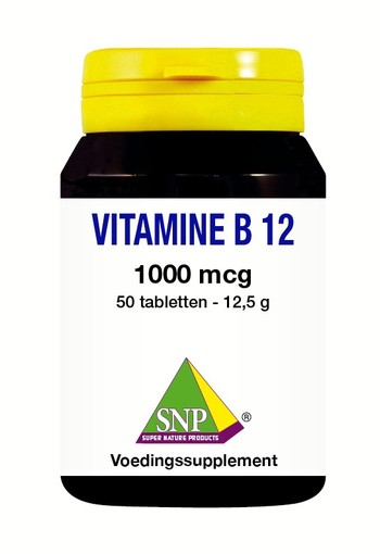 SNP Vitamine B12 1000 mcg (50 tabletten)