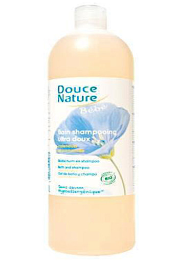 Douce Nature Baby Badschuim & Shampoo 1000ml