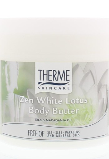 Therme Body butter zen white lotus 250 gram