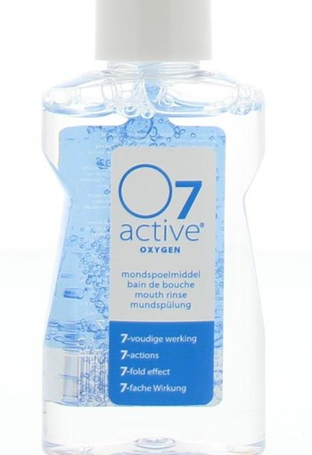 O7 Active Active mondspoelmiddel mini (60 ml)