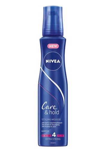 Nivea Care & hold styling mousse extra strong (150 ml)