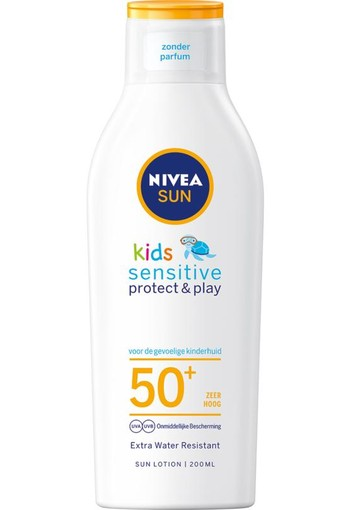 Nivea Sun protect & sensitive child sunmilk SPF50+ (200 ml)