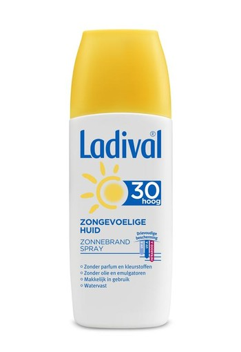Ladival Zongevoelige huid spray F30 (150 ml)