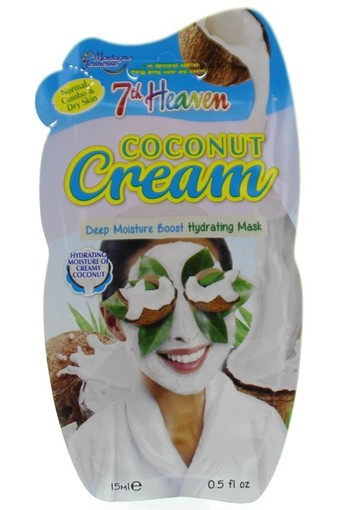Montagne 7th Heaven gezichtmasker creamy coconut (15 ml)
