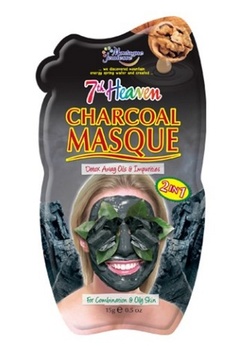 Montagne 7th Heaven gezichtsmasker charcoal (10 ml)