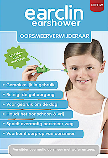 EarClin Ear­shower oor­smeer­ver­wij­de­raar kin­de­ren 10 ml