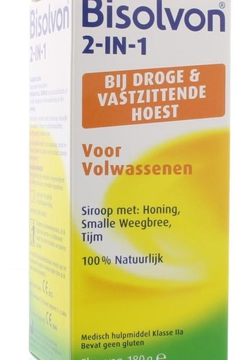 Bisolvon Drank 2 in 1 volwassenen (133 ml)