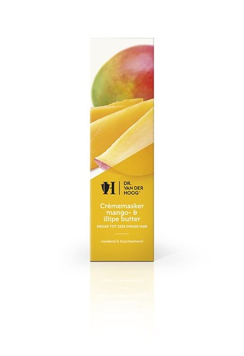 Dr Vd Hoog Crememasker mango illipe butter (10 ml)