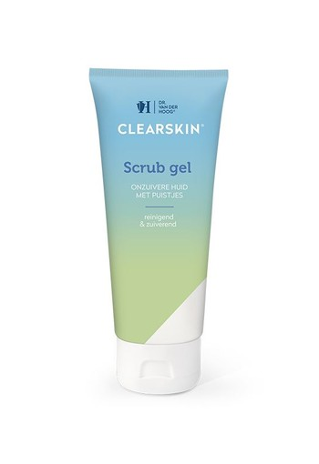 Dr Vd Hoog Clearskin scrub gel tube (100 ml)