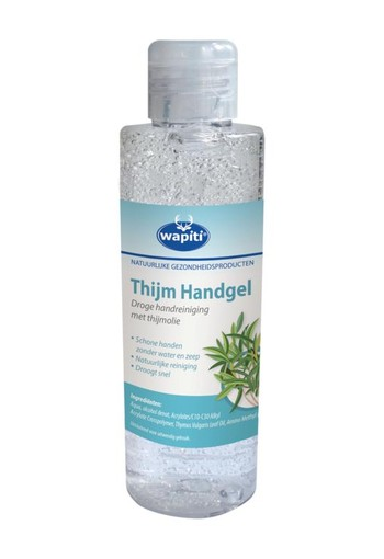 Wapiti Handgel thijm (150 ml)