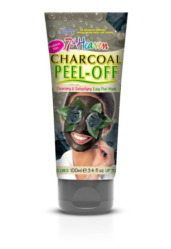 Montagne 7th Heaven gezichtsmasker charcoal peel-off (100 ml)
