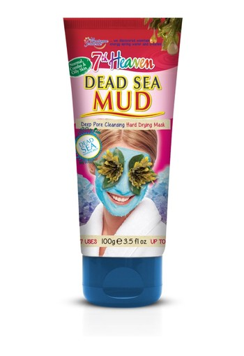 Montagne 7th Heaven gezichtsmasker dead sea mud tube (100 gram)