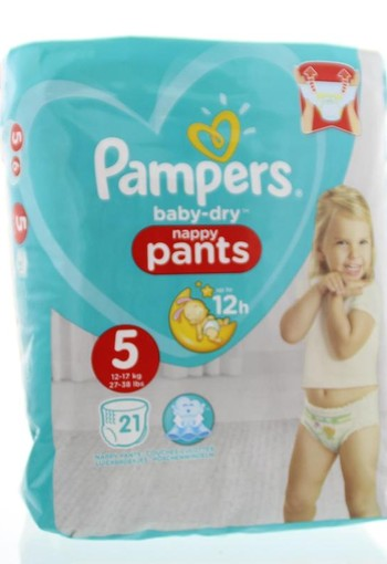 Pampers Baby dry junior S5 pants (21 stuks)