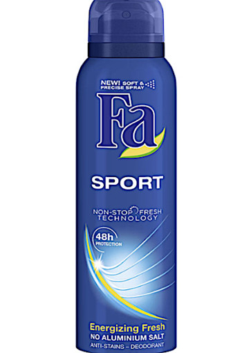 Fa Deo­spray for men spor­ty fresh 48 hr  150 ml