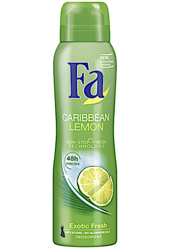 Fa Deo­spray Ca­rib­bean le­mon  150 ml