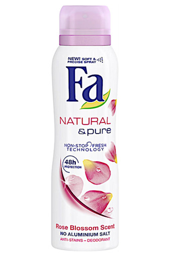 Fa Deospray Nat and pure Rose