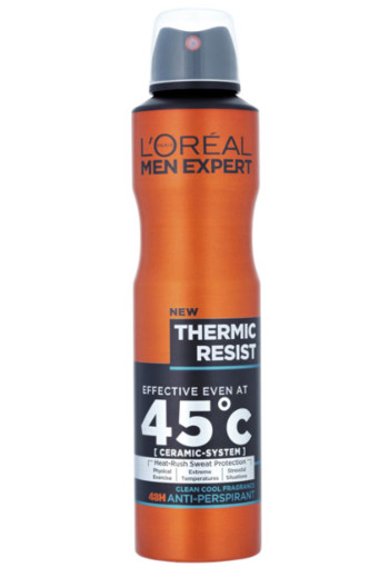 L'Oré­al Men ex­pert deo ther­mic re­sist spray