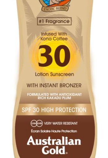 Australian Gold Lotion met bronzer SPF30 (237 ml)