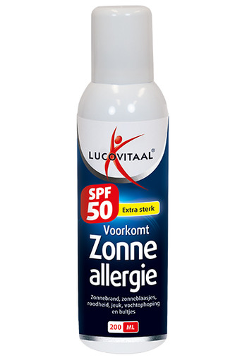Lucovitaal Zonneallergie spf50 spray (200 ml)
