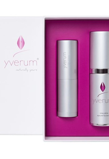 Yverum Hyaluron oog lip serum vegan (15 ml)