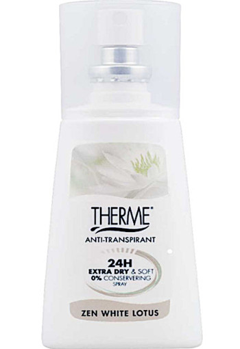 Ther­me An­ti trans­pi­rant Zen whi­te lo­tus spray  75 ml