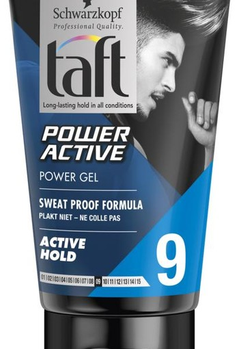 Taft Power active gel (150 ml)