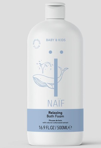 Naif Relaxing bath foam (500 ml)