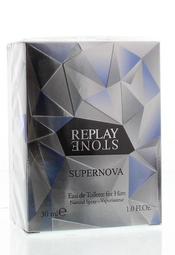 Replay Stone supernova for him eau de toilette (30 ml)