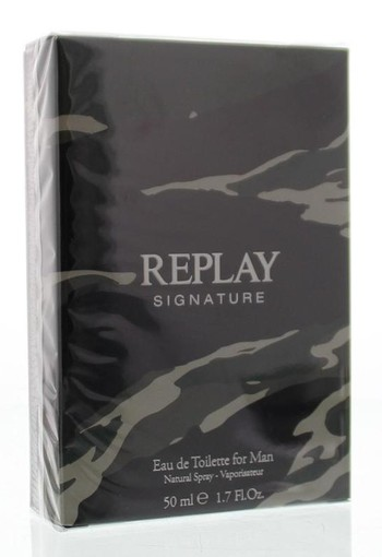 Replay Signature man eau de toilette (50 ml)