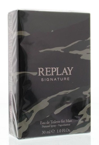 Replay Signature man eau de toilette (30 ml)