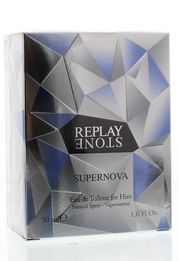 Replay Stone supernova for him eau de toilette (50 ml)