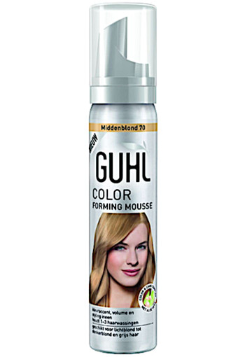 Guhl Color Forming Mousse Nr. 70 Blond - Kleurmousse